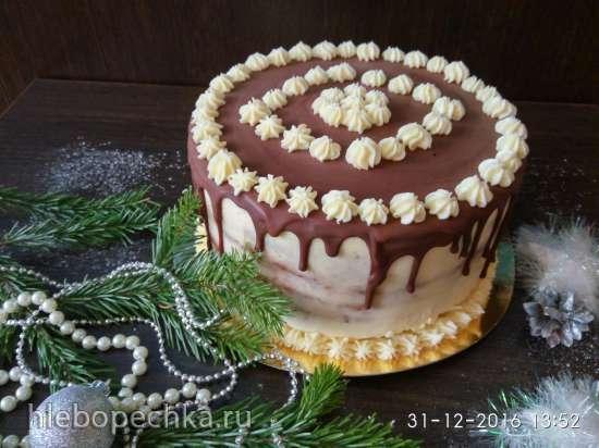 """Торт """"Медовик"""" и всё, что мы делаем к праздничному столу"""