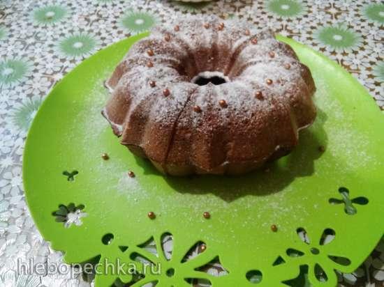 Ванильный фунтовый кекс (Vanilla Pound Cake) в кекснице GFW-025
