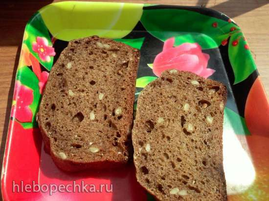 """""""Бородинский хлеб"""" из пшеничной муки (прибор для выпечки Tortilla Chef 118000 Princess)"""