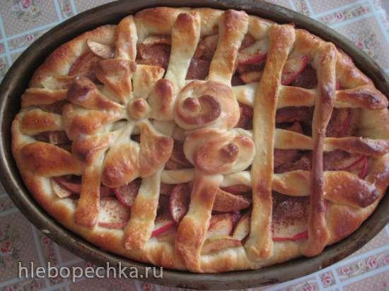 Пирог «Роза ветров»
