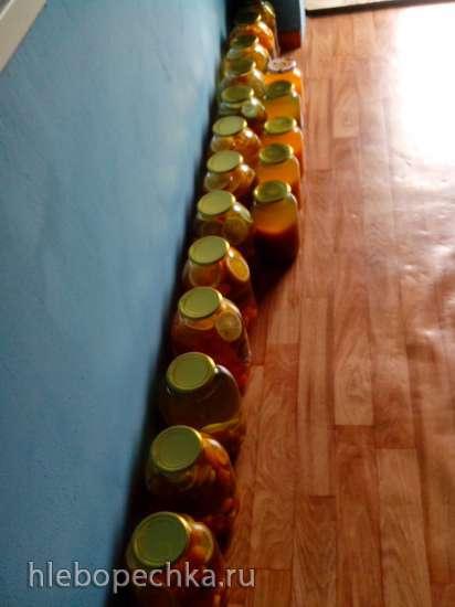 Фанта из апельсинов и абрикос в домашних условиях