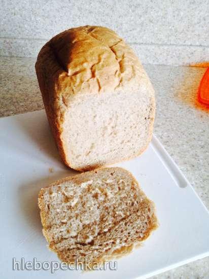 Пшенично-цельнозерновой хлеб с ржаной мукой Семейный