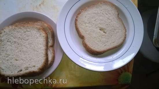 Гренки по мотиву «LG HB-151JE. Хлеб »Французский« на молоке»