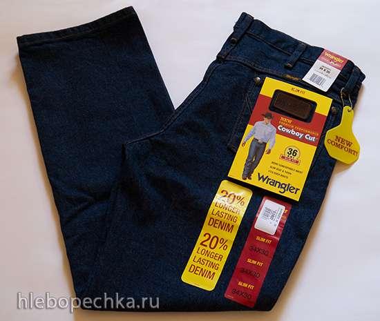 Продаю мужские джинсы Wrangler® 36WMZPD Slim Fit