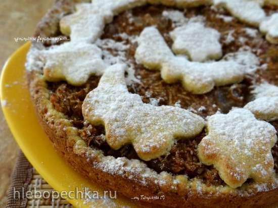 """Berliner Apfelkuchen"" - Берлинский яблочный пирог"