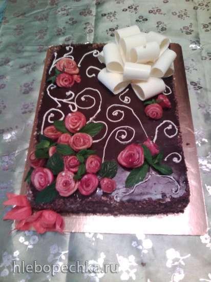 Торт трюфельный на шоколаде