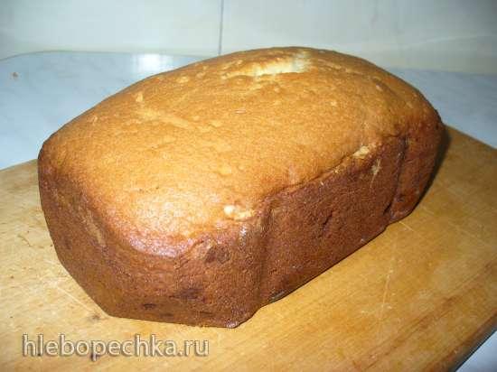 Кекс Столичный в хлебопечке Gorenje BM1400E