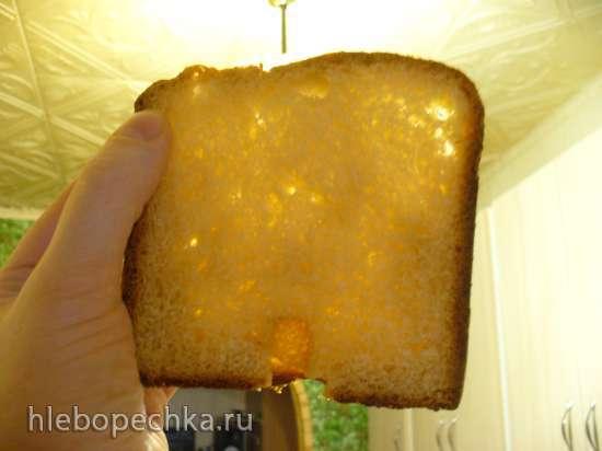 Кулич позапрошлого века по традиционному семейному рецепту в хлебопечке