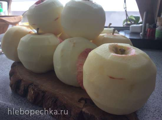 Яблочный мусс без сахара