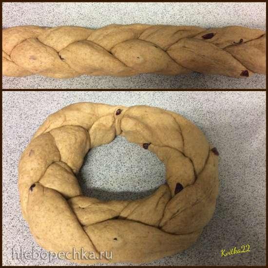 Праздничный хлеб-венок