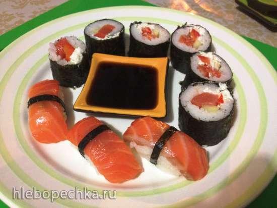 Нигири суши и роллы