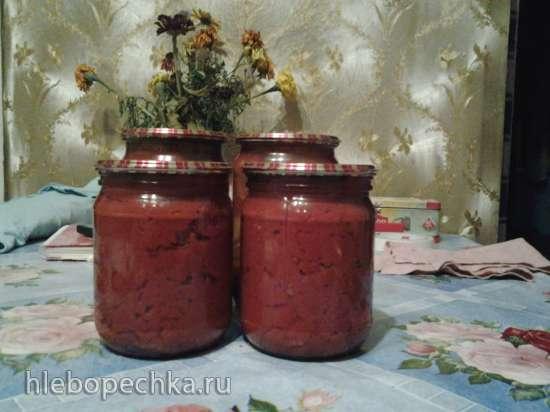 Легкая томатная паста на плите, в духовке, в микроволновке