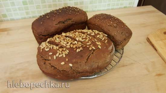 Хлеб ржано-пшеничный по мотивам Знатный сувенирный Беларусь