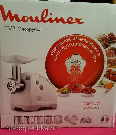 Обзор мясорубки Moulinex ME 626