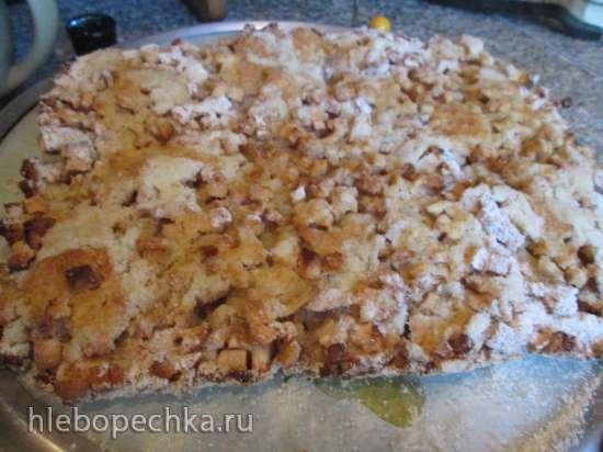 Яблочный пирог без теста (мультиварка Brand 701)