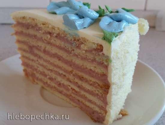Торт Барышня Тиффани (по мотивам торта Штефания)