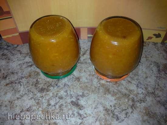 Соус из тыквы и помидоров
