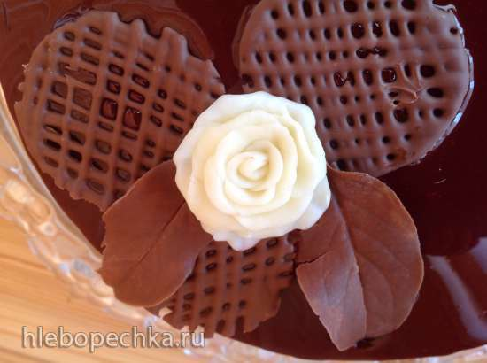 Шоколадный пластик или шоколад для моделирования.