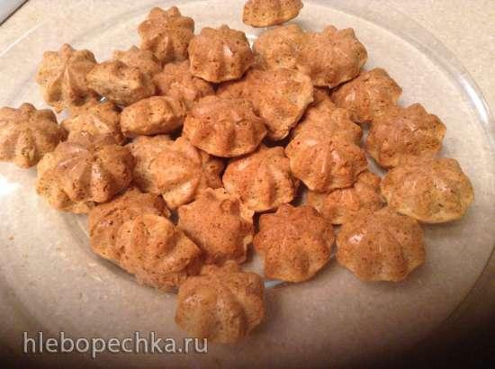Овсяное печенье с арахисовой пастой