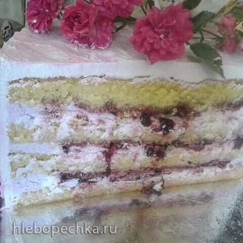 Как сделать прослойку в торт из ягод