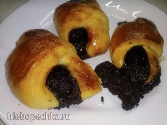 Шоколадная начинка для булочек, круасанов, рогаликов