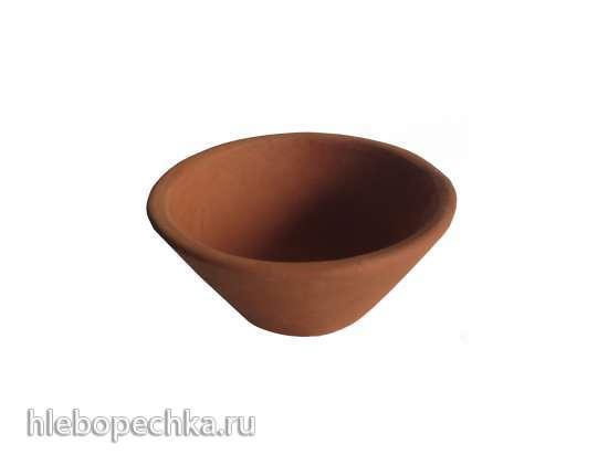Глиняная форма для выпечки хлеба ручной работы (СП, Россия, весь мир)