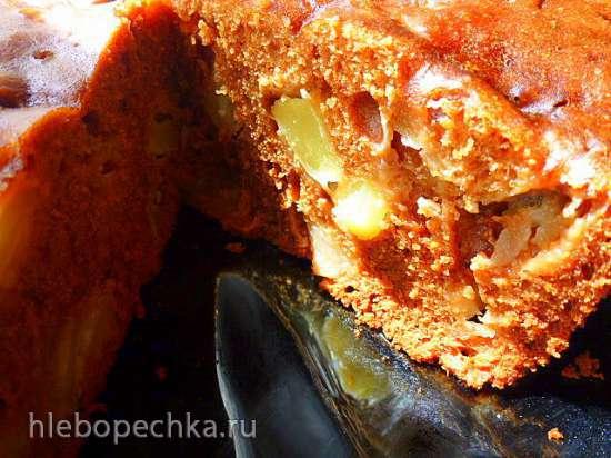 Французский деревенский пирог с медом (скороварка Brand 6050)