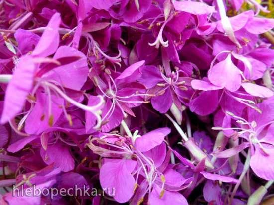 Ферментированный цветочный чай Садовый микс