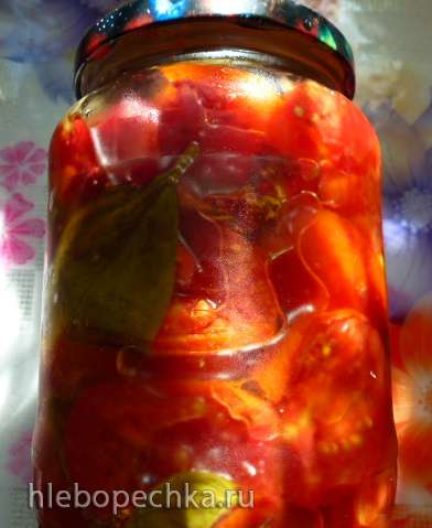 Печеные томаты и сливы