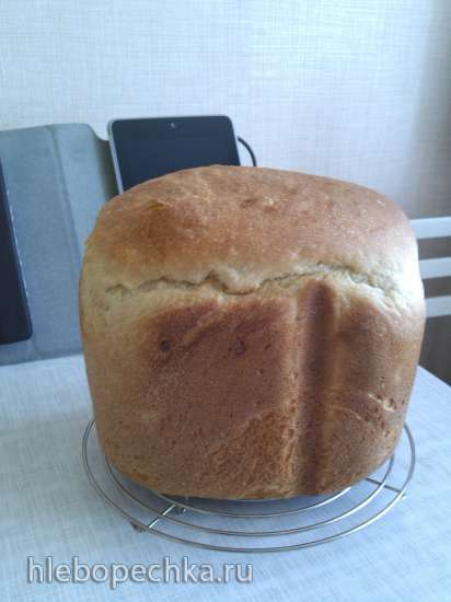 Хлеб картофельный с луком (хлебопечка)