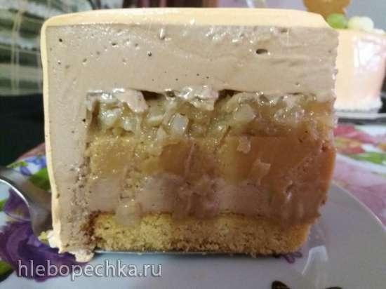 """Торт """"Карамельная груша"""""""