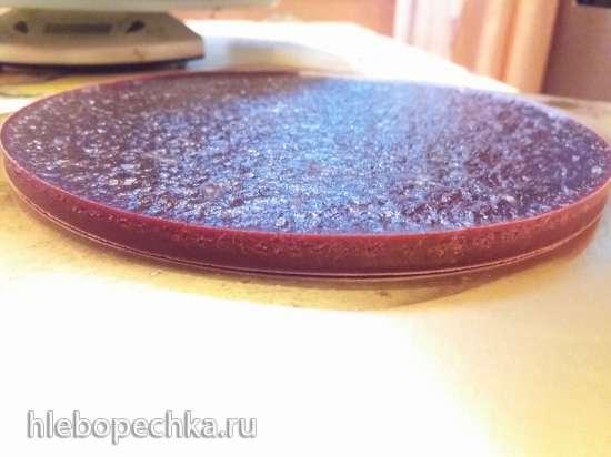 Торт «Прованс» лавандово-черничный