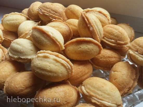 Орешки с карамельным крем-чизом