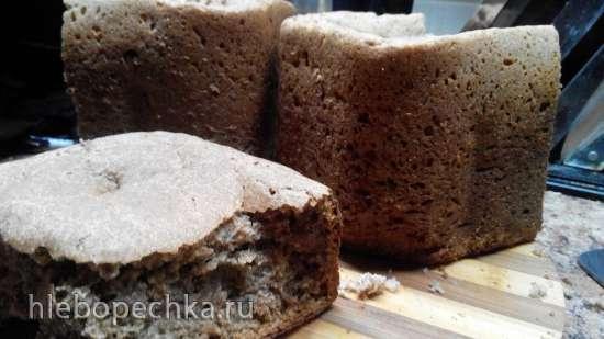 Пшенично-ржаной хлеб в хлебопечке (наш семейный проверенный рецепт)