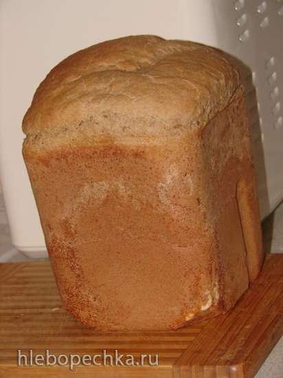 Столичный ржано-пшеничный хлеб на закваске по ГОСТу