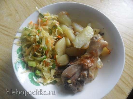 Салат из свежей капусты столовский