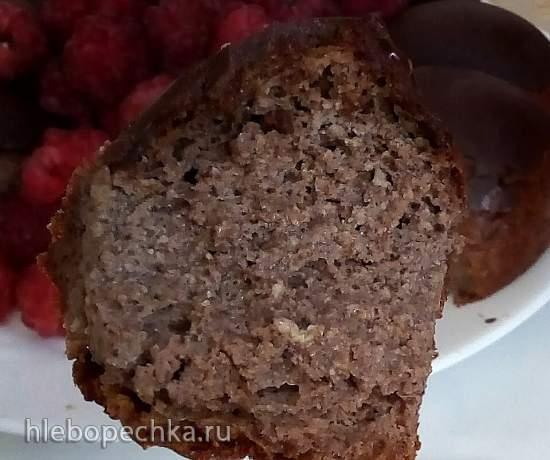 Шоколадный кекс в шоколаде