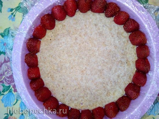 Диетический вариант торта Фрезье