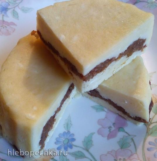 Десертный творожный почти сыр в микроволновке за 10 минут (полезное питание)