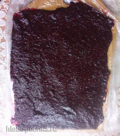 Диетический творожный желейный десерт с ягодным мармеладом