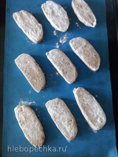 Лепёшки с гречневой мукой и грецкими орехами