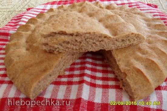 Лепёшка хлебная цельнозерновая на сыворотке