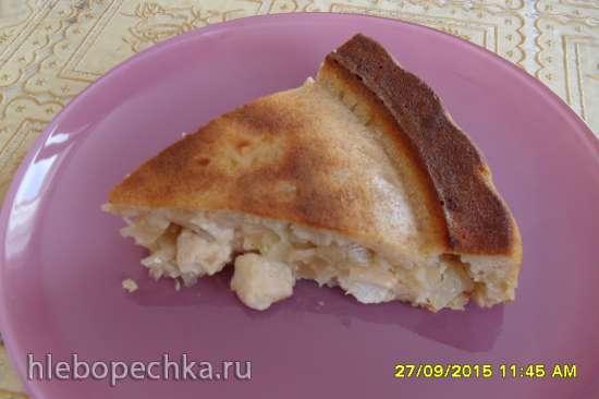 Заливной пирог (по мотивам Маринкиных творинок)