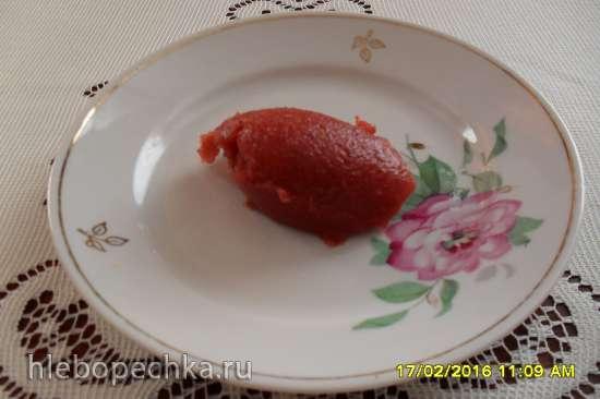 Джем клубничный диетический (зимний вариант)
