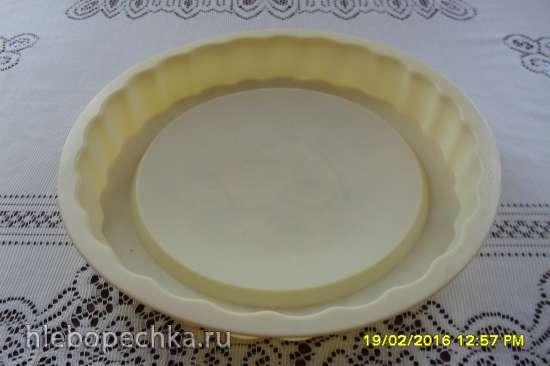 Кекс с цитрусовой подваркой
