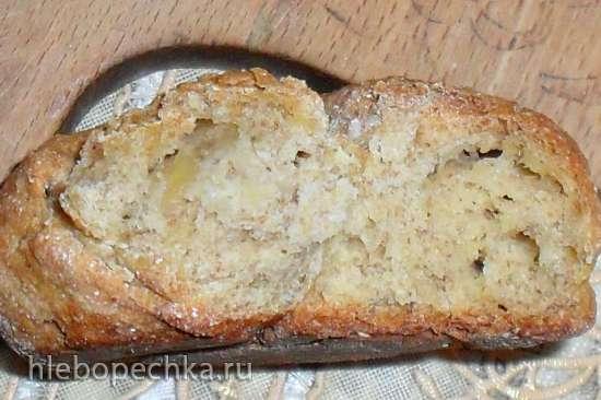 Цельнозерновые булочки из яблочного теста