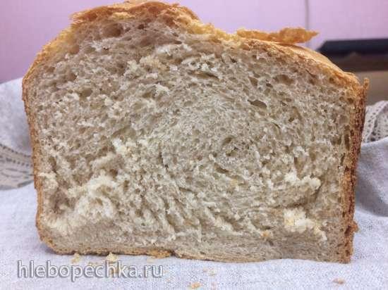 В хлебопечке Кенвуд 450 хлеб получается чересчур плотный