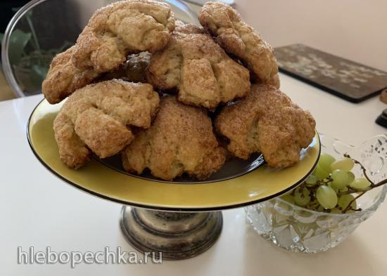 Печенье творожное «Гусиные лапки»