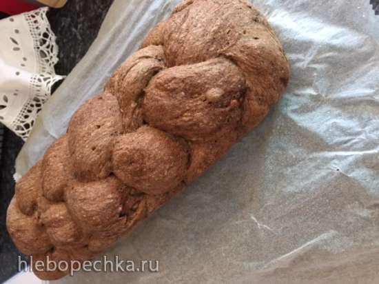 Ореховый хлеб (walnut bread) из спельты