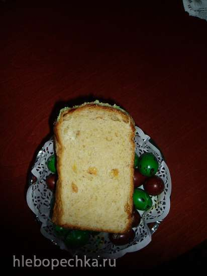 Кулич по Похлёбкину и его адаптация к хлебопечке (мастер-класс)